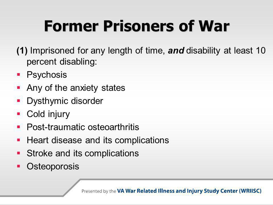 Former Prisoners of War