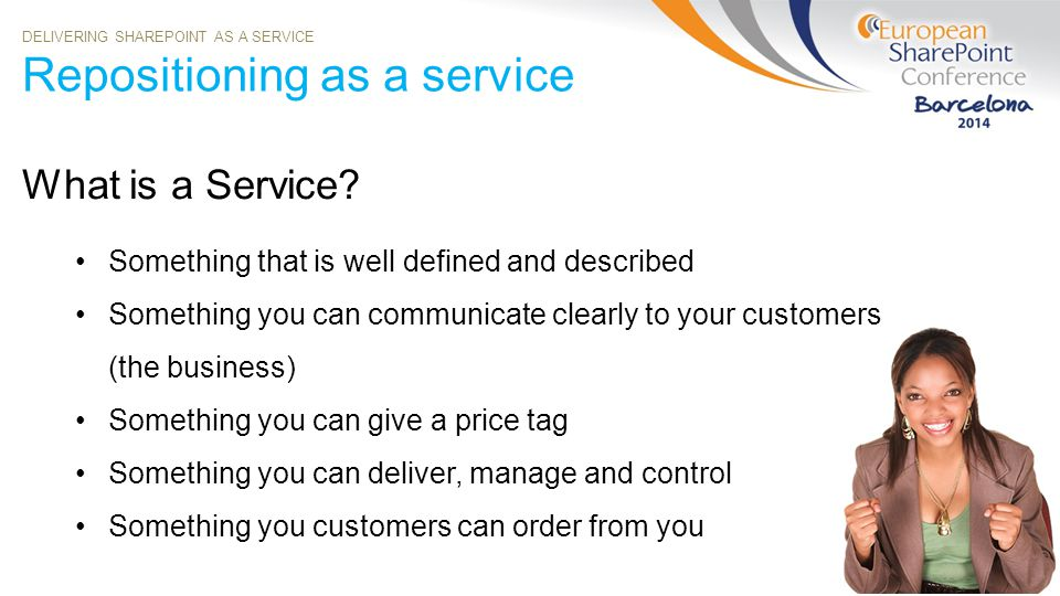 Repositioning as a service