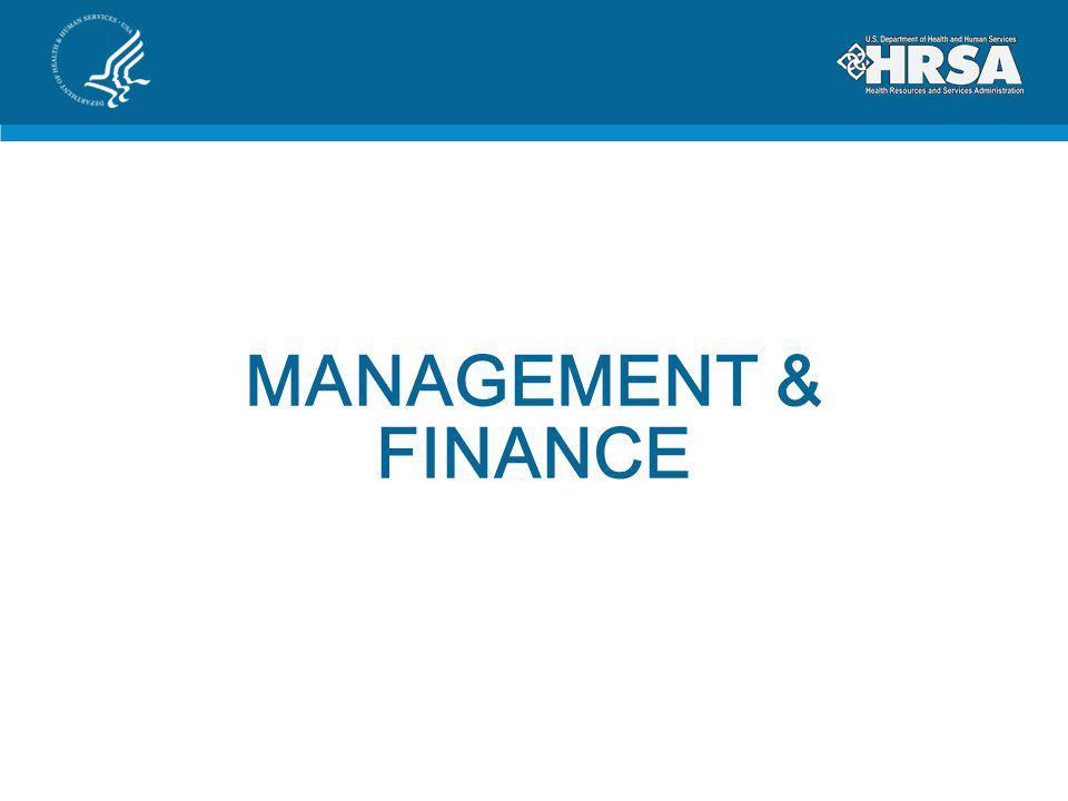 MANAGEMENT & FINANCE