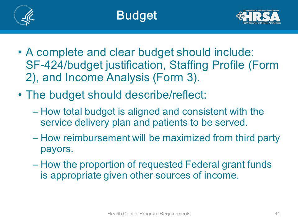 Health Center Program Requirements