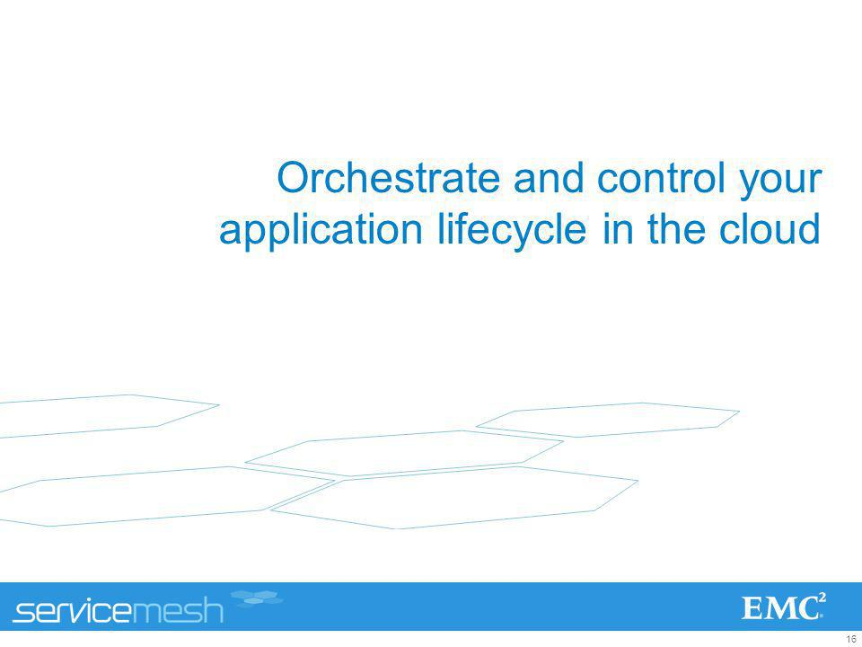 Orchestrate and control your application lifecycle in the cloud