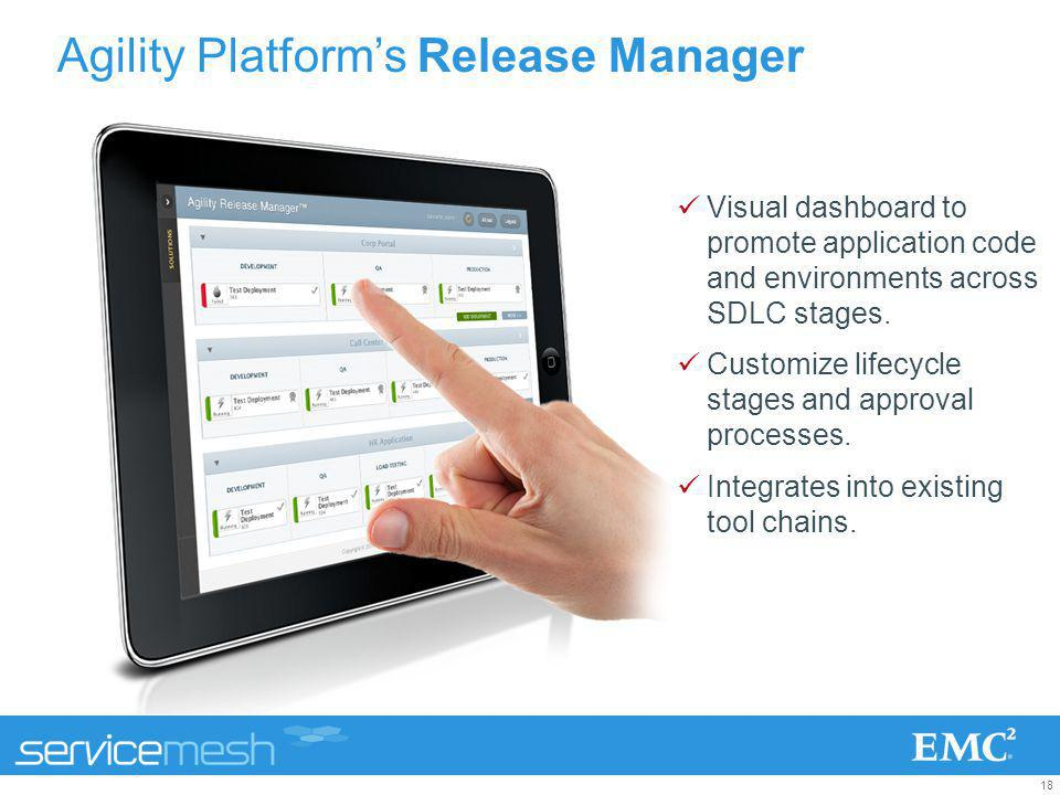 Agility Platform's Release Manager