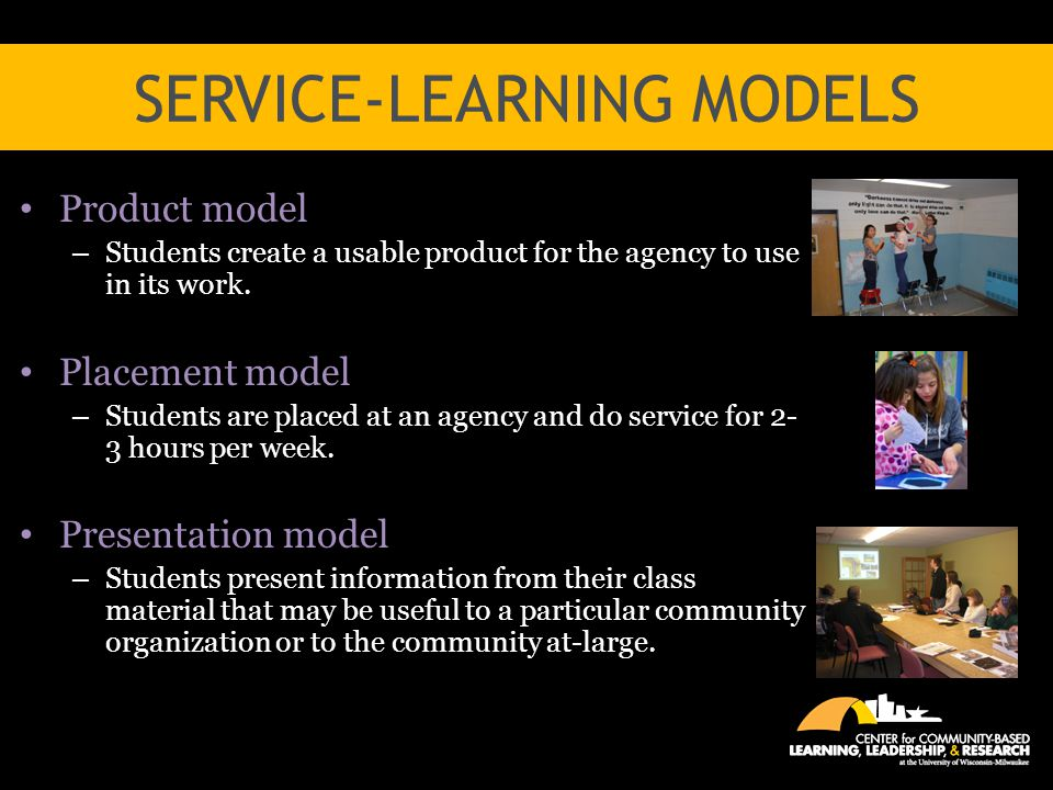 Service-Learning Models