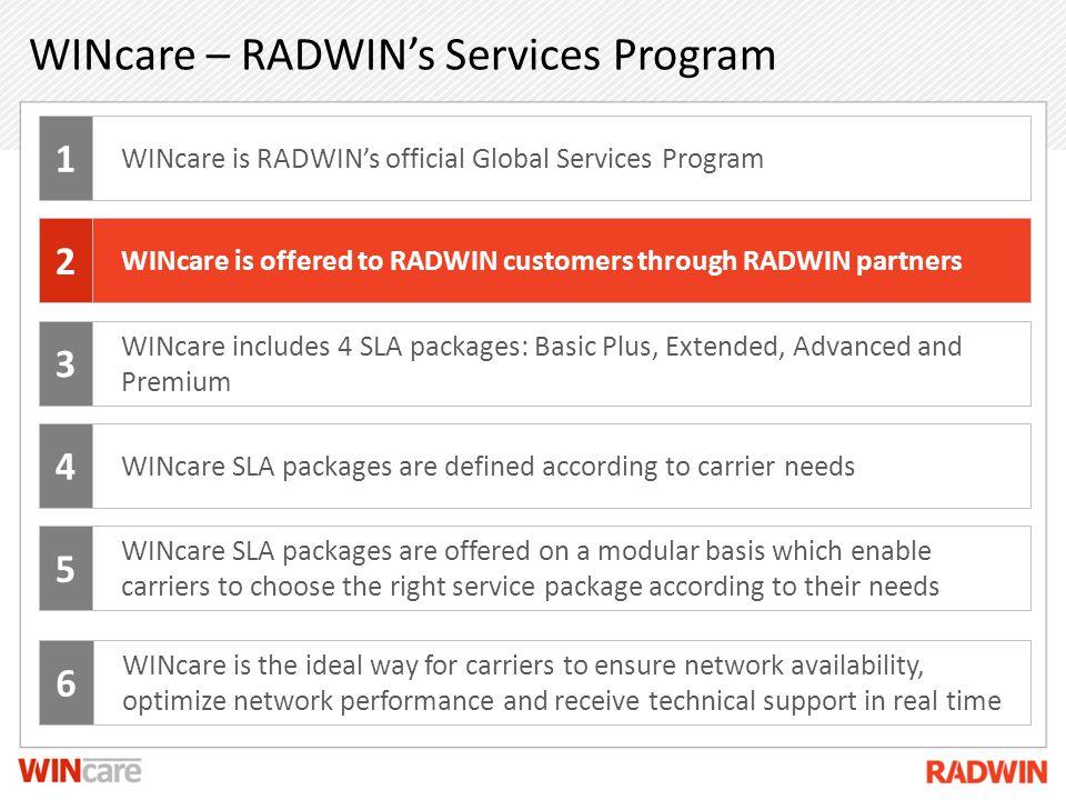 WINcare – RADWIN's Services Program
