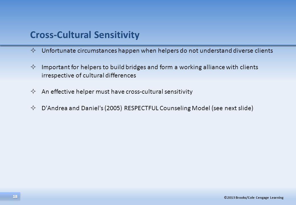 Cross-Cultural Sensitivity