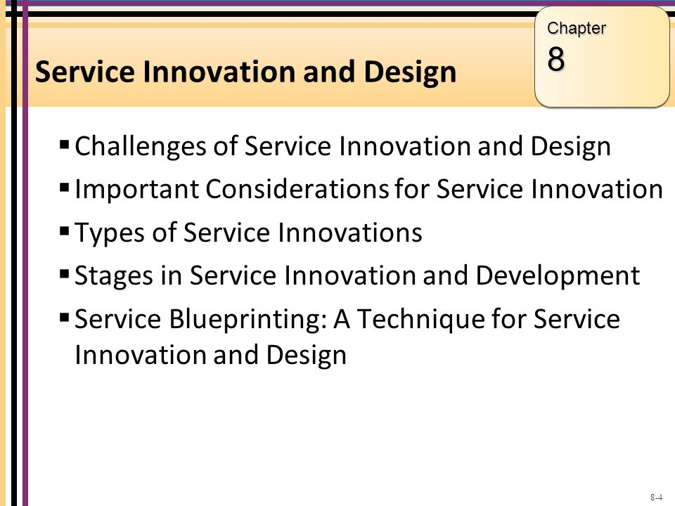 service innovation and design pdf