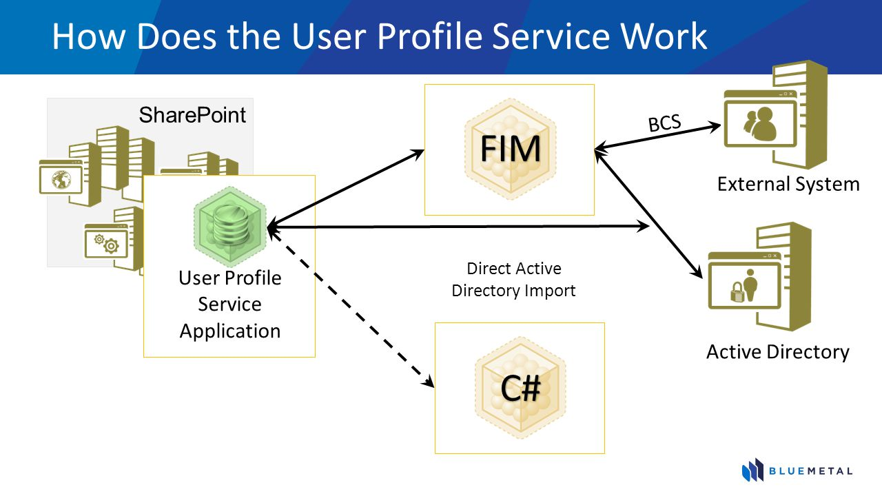 How Does the User Profile Service Work