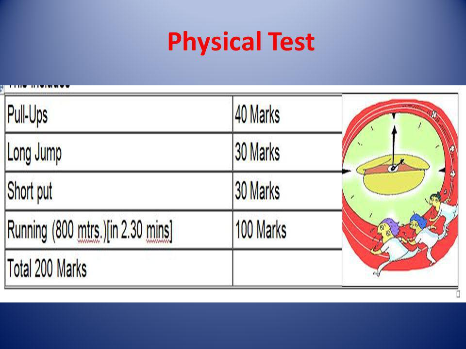Physical Test