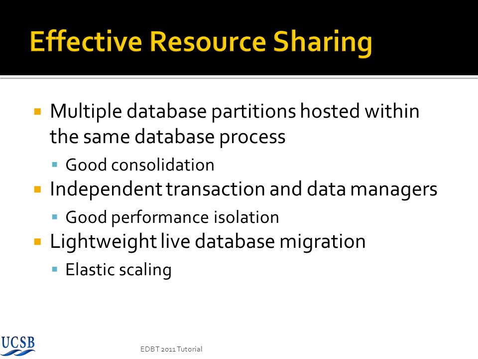 Effective Resource Sharing