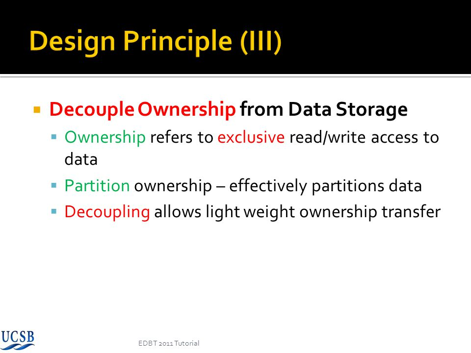 Design Principle (III)