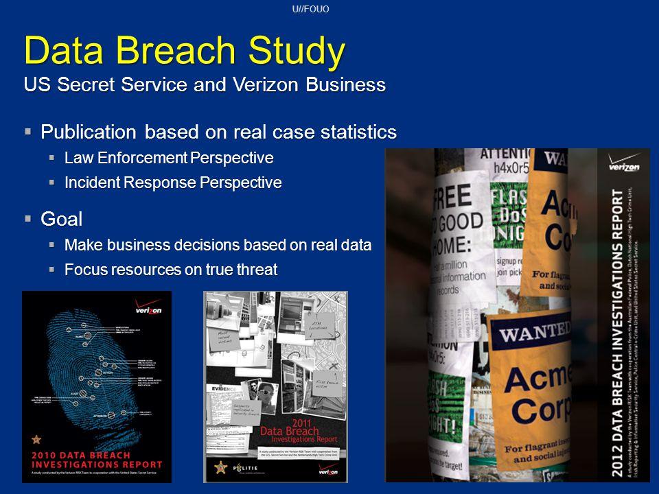 Data Breach Study US Secret Service and Verizon Business