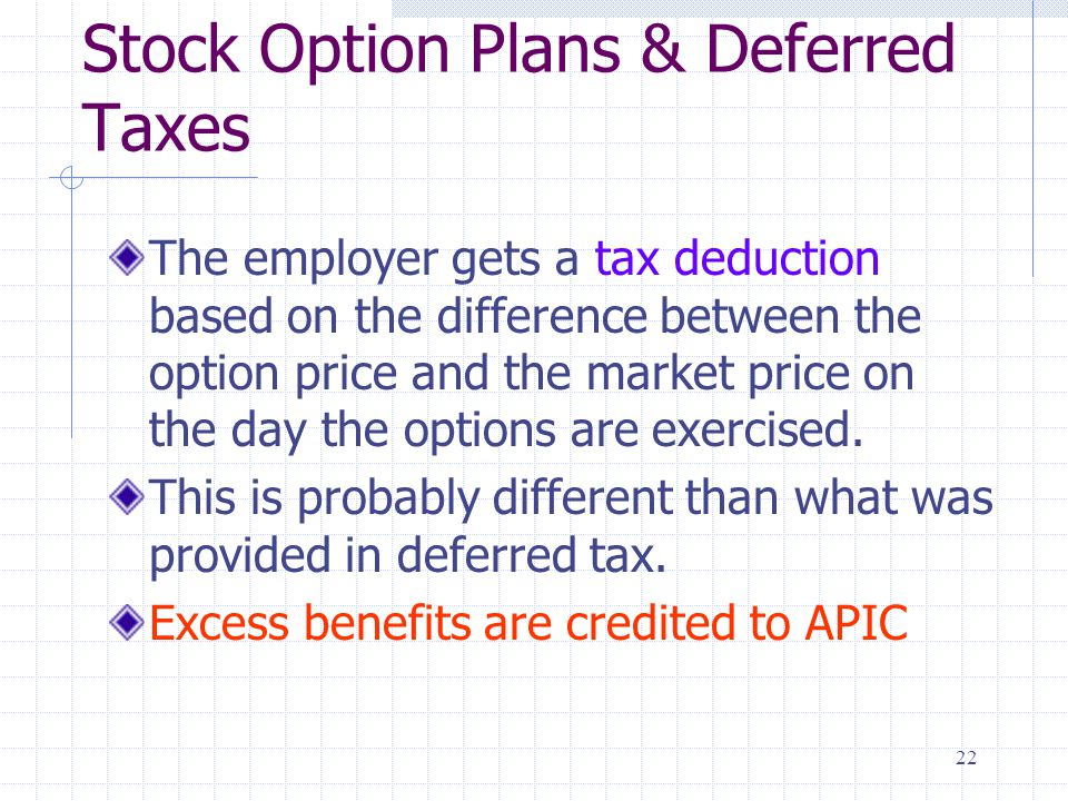 Apic stock options