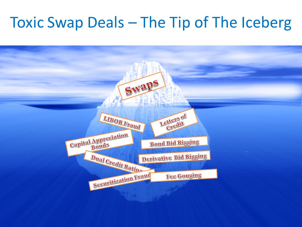 Toxic Swap Deals – The Tip of The Iceberg