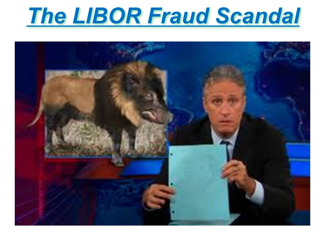 The LIBOR Fraud Scandal
