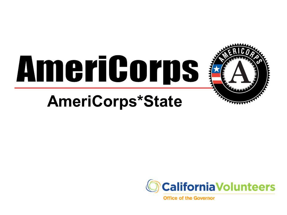 AmeriCorps AmeriCorps*State