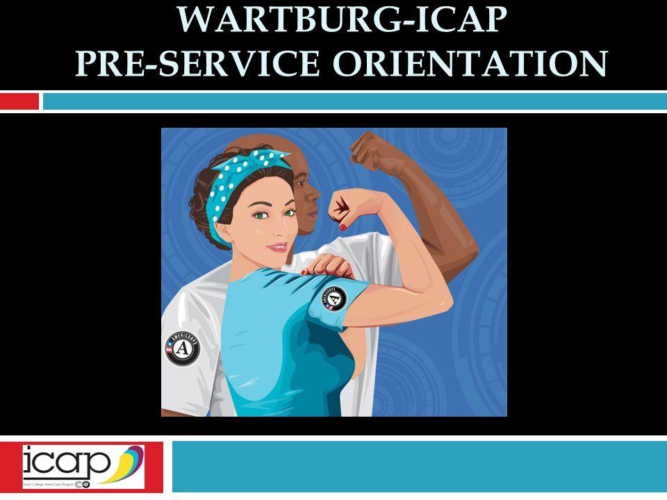 Wartburg-ICAP Pre-Service Orientation