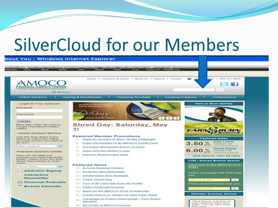 SilverCloud for our Members