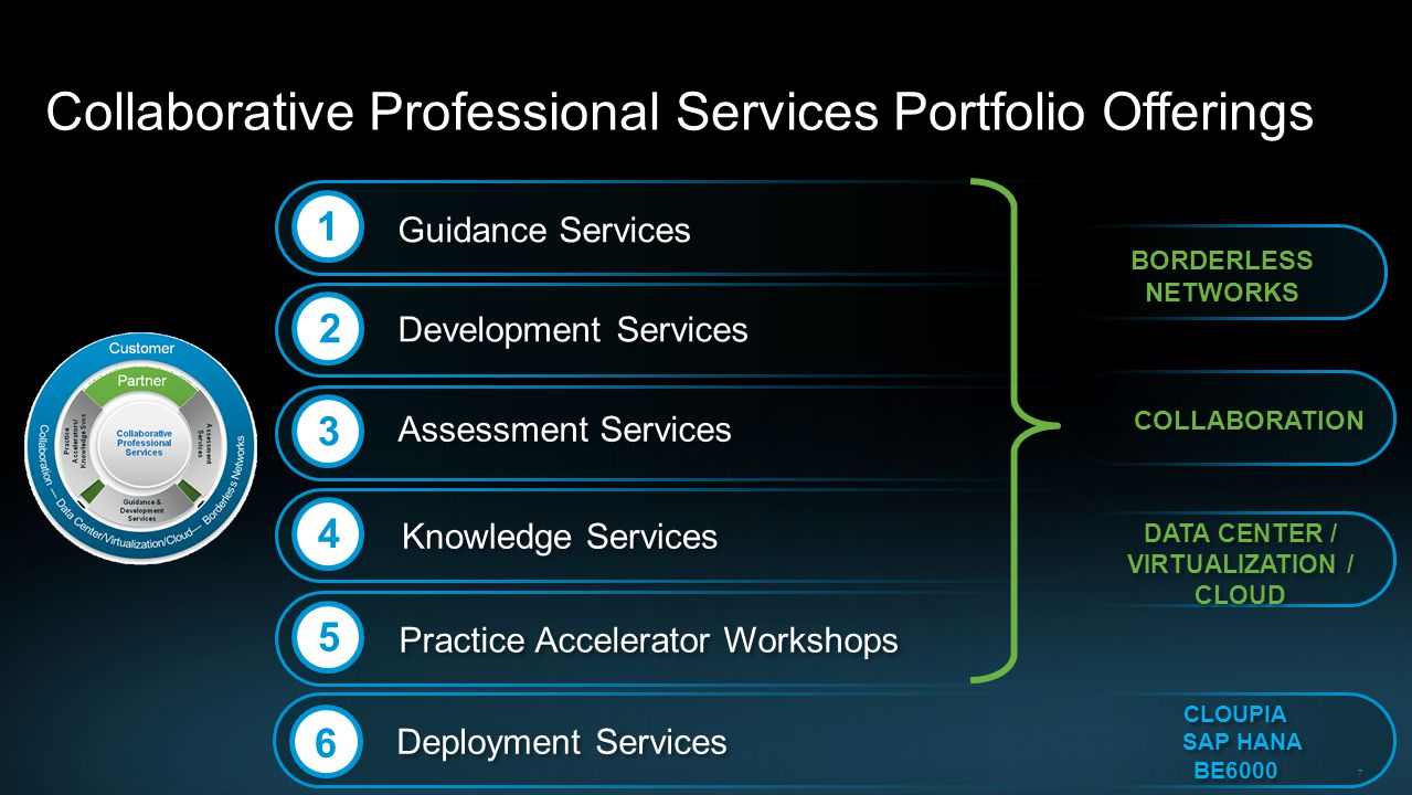 Collaborative Professional Services Portfolio Offerings