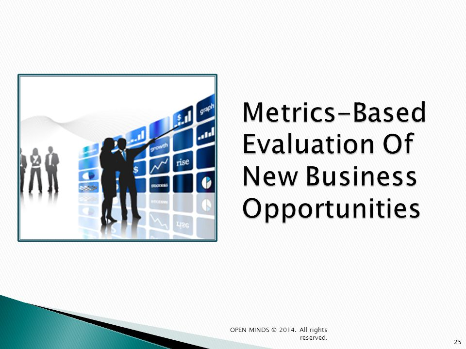 Metrics-Based Evaluation Of New Business Opportunities