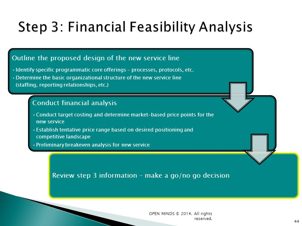 Step 3: Financial Feasibility Analysis