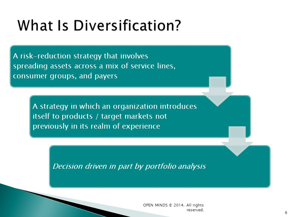 What Is Diversification