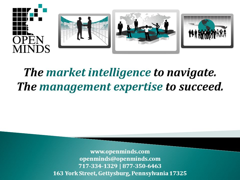The market intelligence to navigate.