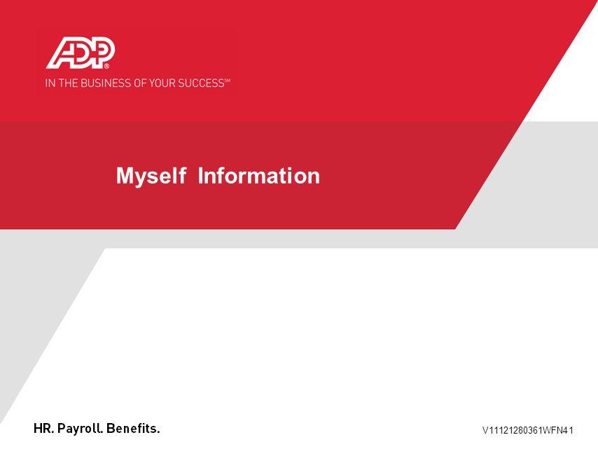 Myself Information