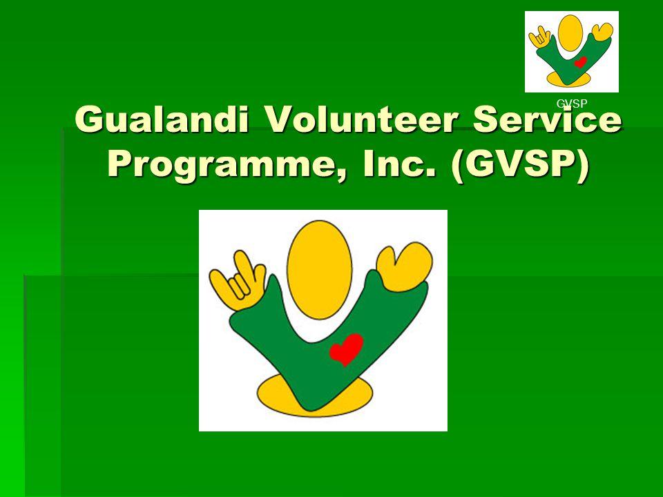 Gualandi Volunteer Service Programme, Inc. (GVSP)