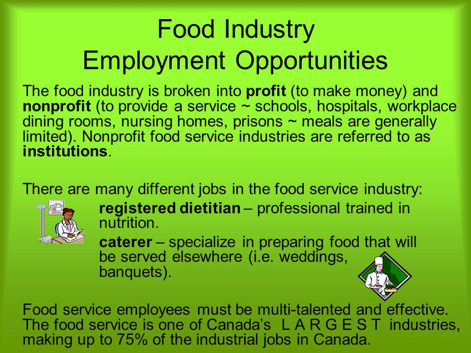 Food Industry Employment Opportunities