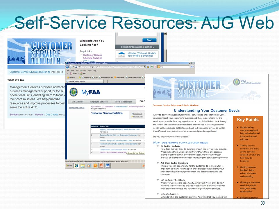 Self-Service Resources: AJG Web