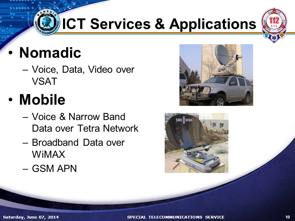 ICT Services & Applications