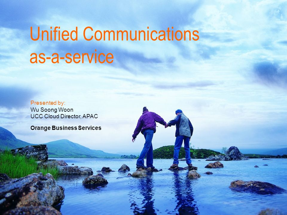 Unified Communications as-a-service