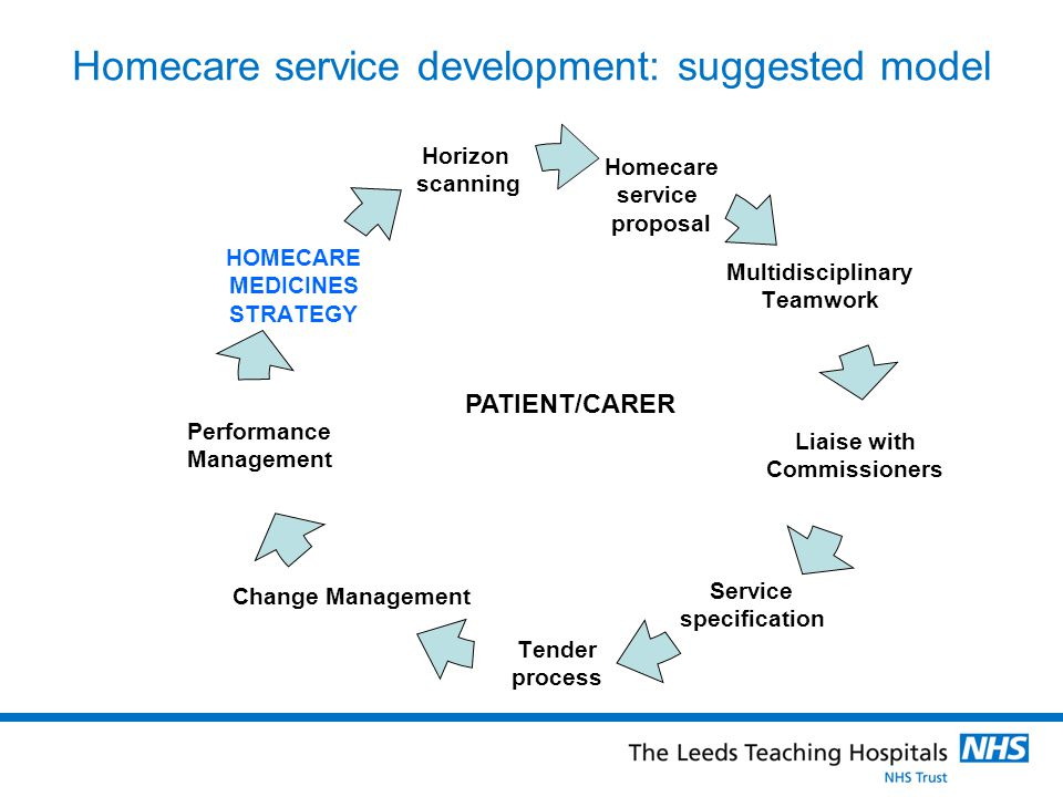 Homecare service development: suggested model
