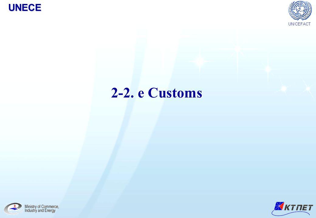 UNECE UN/CEFACT 2-2. e Customs