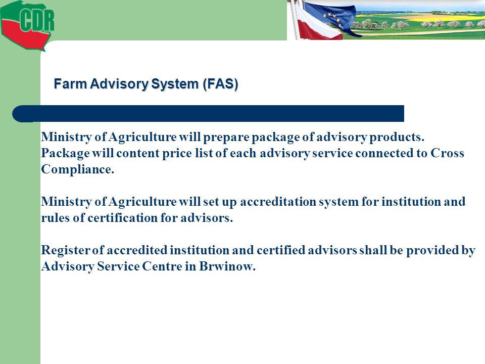 Farm Advisory System (FAS)