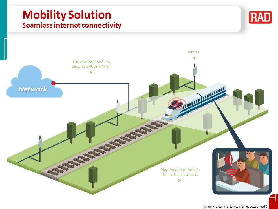 Mobility Solution Seamless internet connectivity