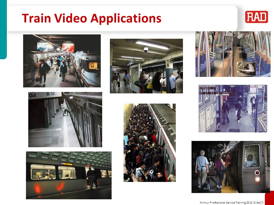 Train Video Applications