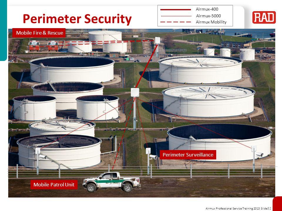 Perimeter Security Mobile Fire & Rescue Perimeter Surveillance