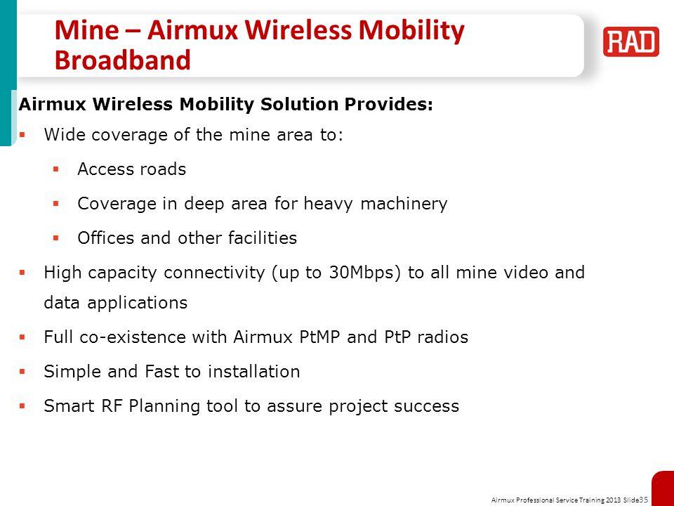 Mine – Airmux Wireless Mobility Broadband