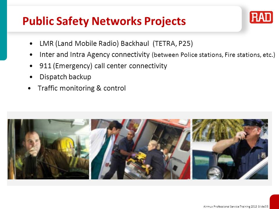 Public Safety Networks Projects