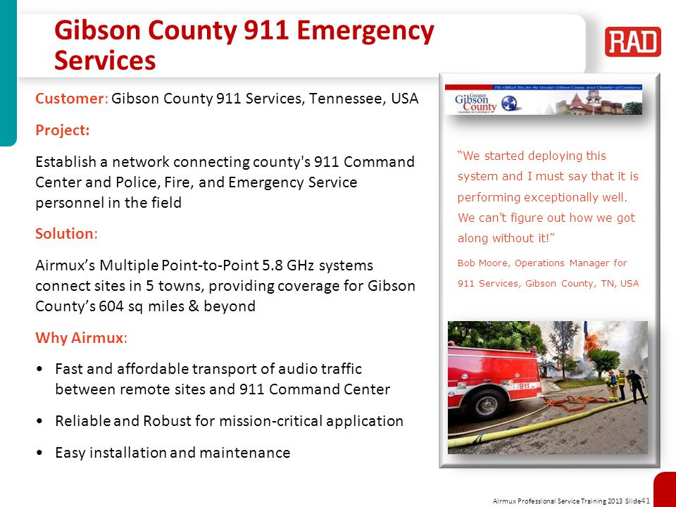 Gibson County 911 Emergency Services
