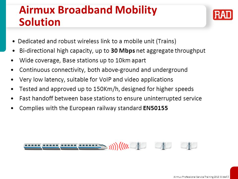 Airmux Broadband Mobility Solution