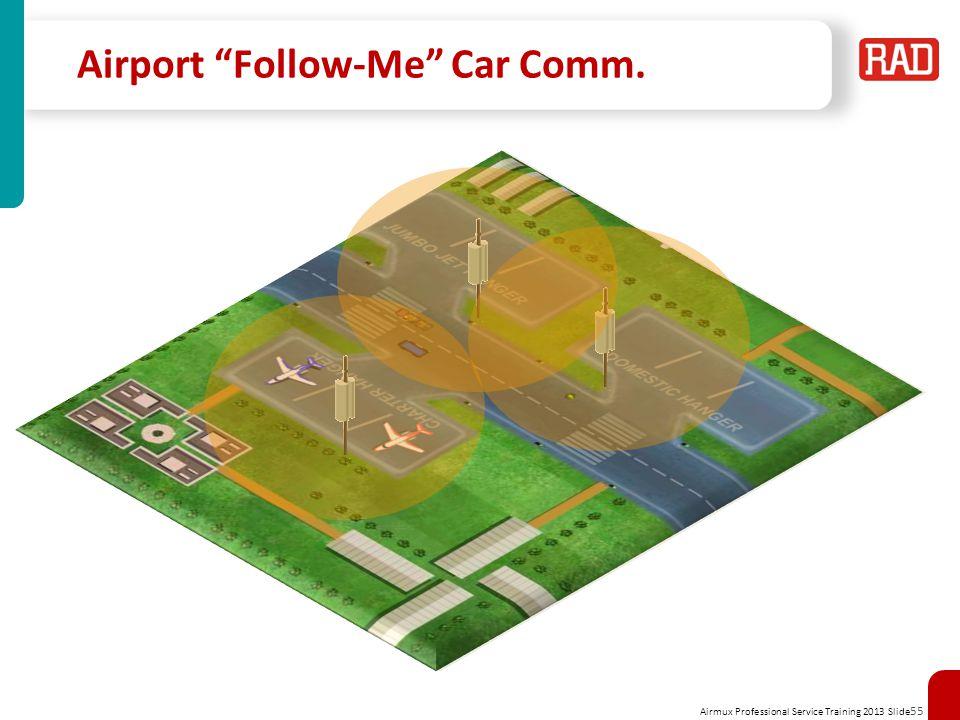 Airport Follow-Me Car Comm.