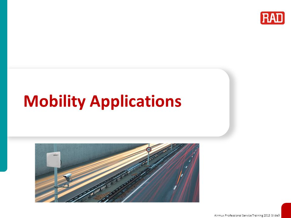 Mobility Applications