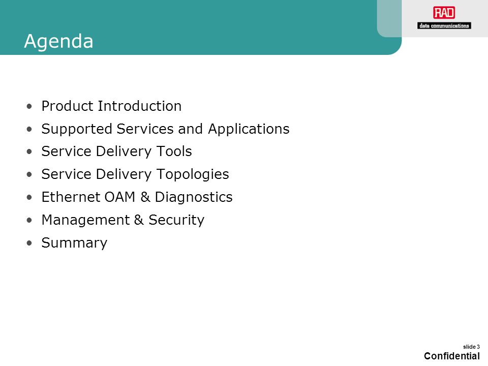 Agenda Product Introduction Supported Services and Applications