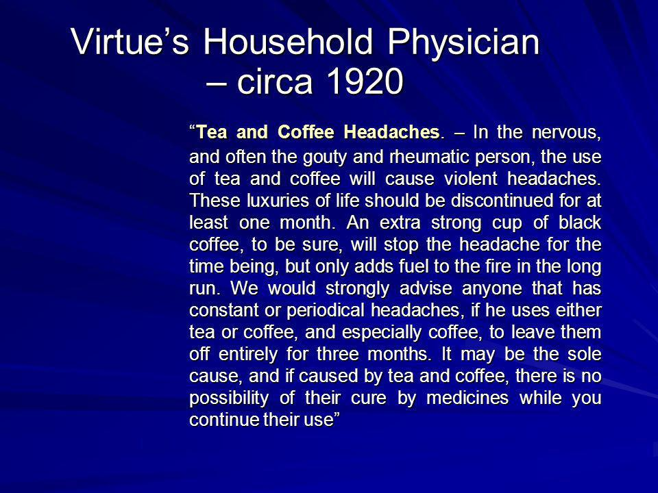 Virtue's Household Physician – circa 1920