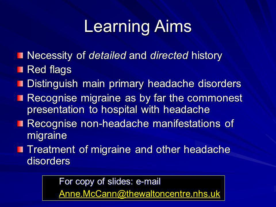 Headache Disorders A Management Guide for Practitioners