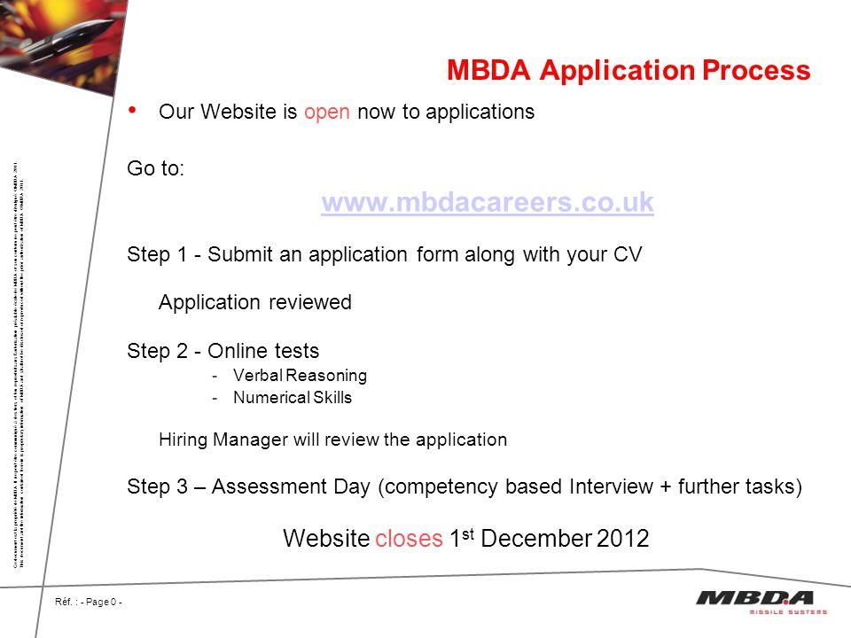 MBDA Application Process