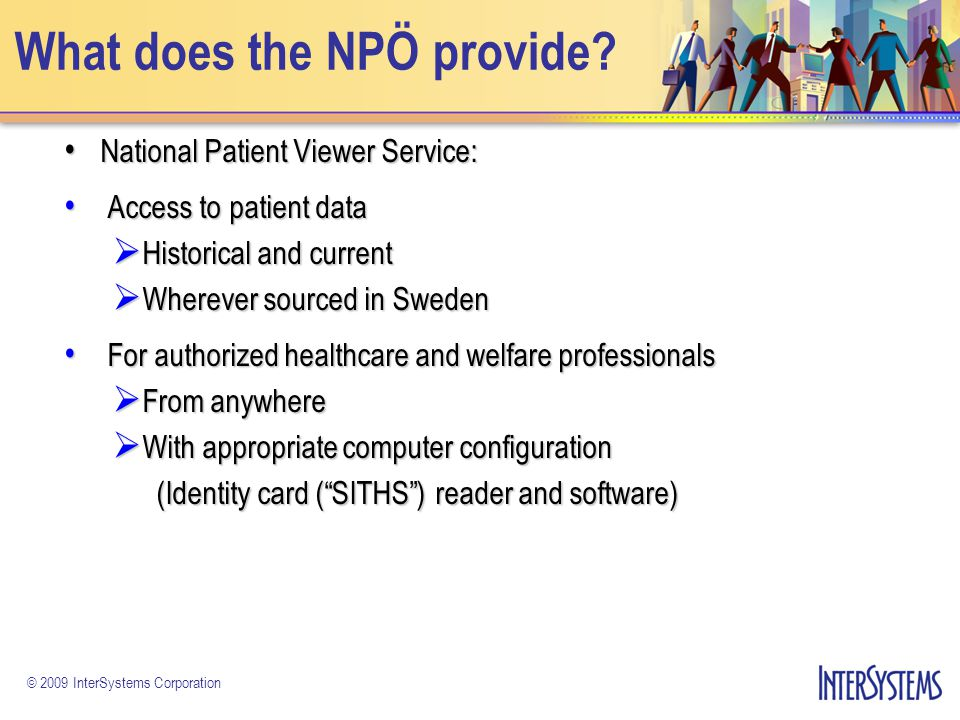 What does the NPÖ provide