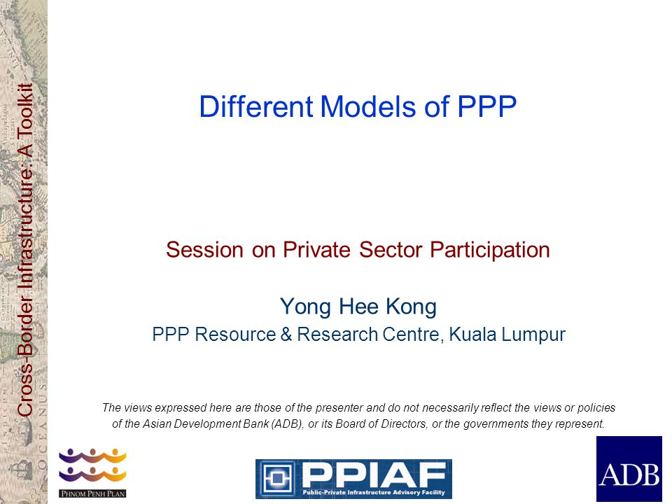 Different Models of PPP